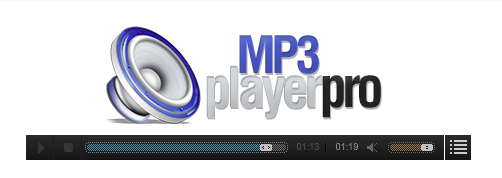 BJ Mp3 Player Pro - модуль mp3 плеер Joomla